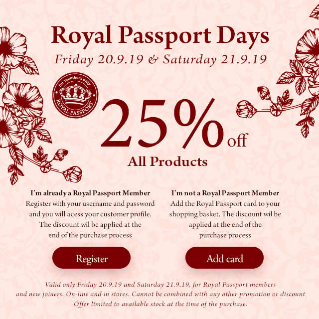 Royal Passport Days
