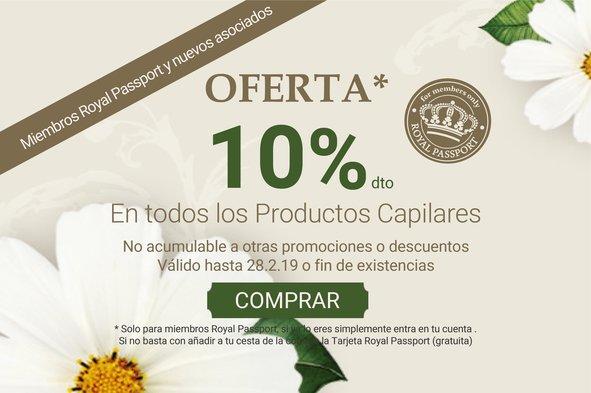 Promo 10% Capilar RP: Promo 10% Capilar RP