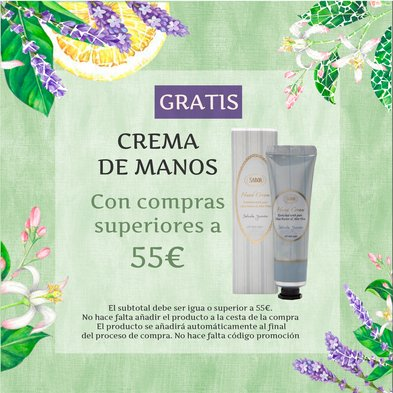 Crema Manos Gratis con compras >55eur: Crema Manos Gratis con compras >55eur