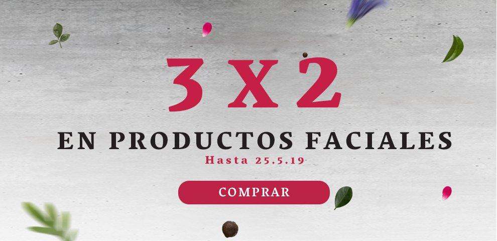 3x2 productos faciales: 3x2 productos faciales