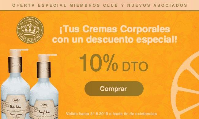 Promo Club Sabon Cremas Cuerpo Agosto: Promo Club Sabon Cremas Cuerpo Agosto