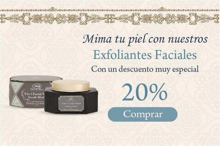 20% Exfoliantes Faciales: 20% Exfoliantes Faciales