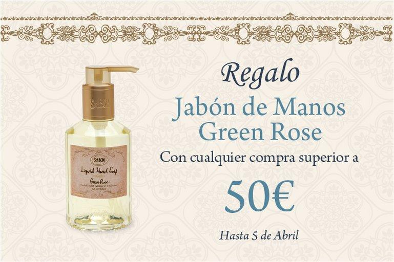 Regalo Hand Soap Green Rose: