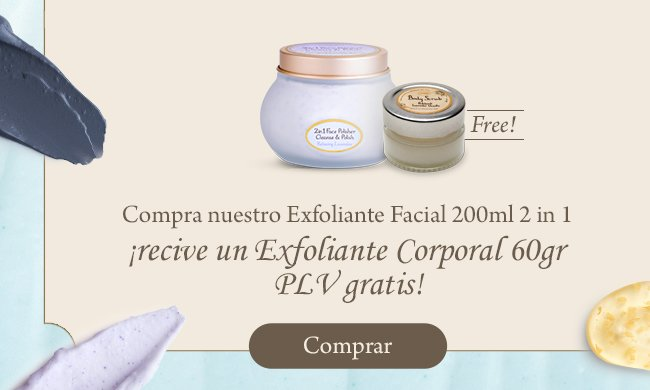 Regalo Mini Scrub PLV: Regalo Mini Scrub PLV 60gr comprando 1 Face Polisher 2 in 1 200ml