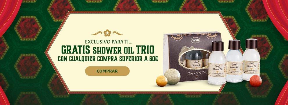Regalo Shower Oil Trio: Regalo Shower Oil Trio por compras superiores a 60€