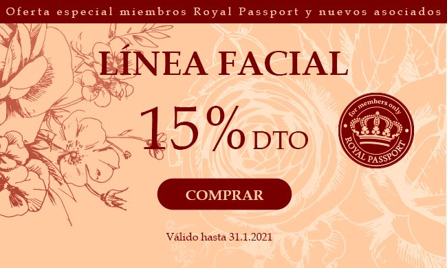15% Productos Faciales: 15% Productos Faciales