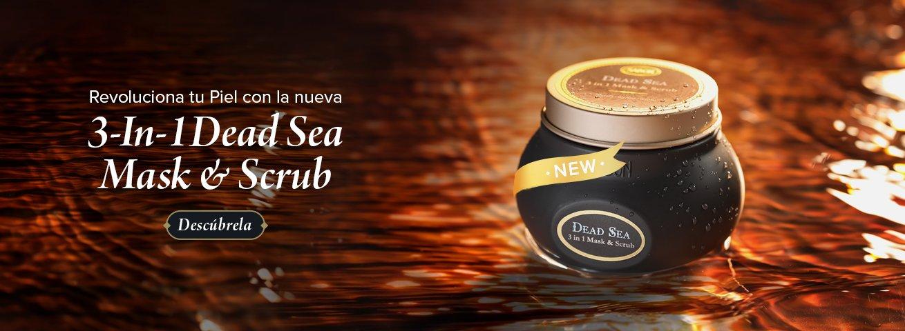 Nueva Dead Sea 3 in 1 Mask & Scrub: Nueva Dead Sea 3 in 1 Mask & Scrub
