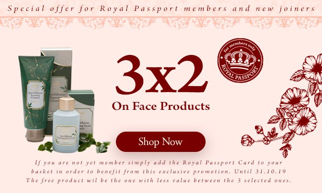 3x2 Face Products: 3x2 Face Products