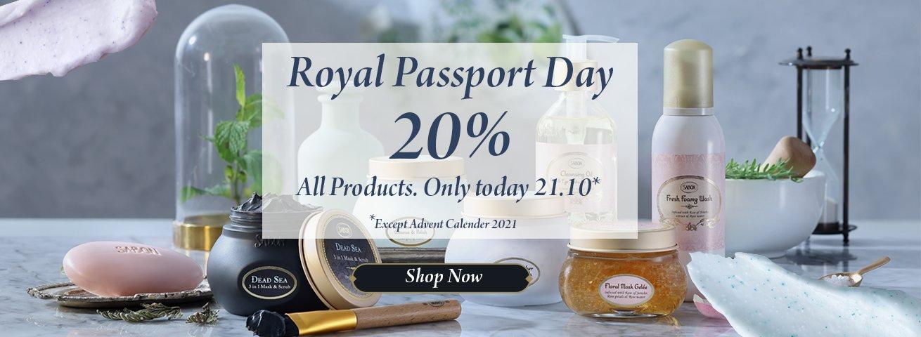 Royal Passport Day 20%: Royal Passport Day 20%