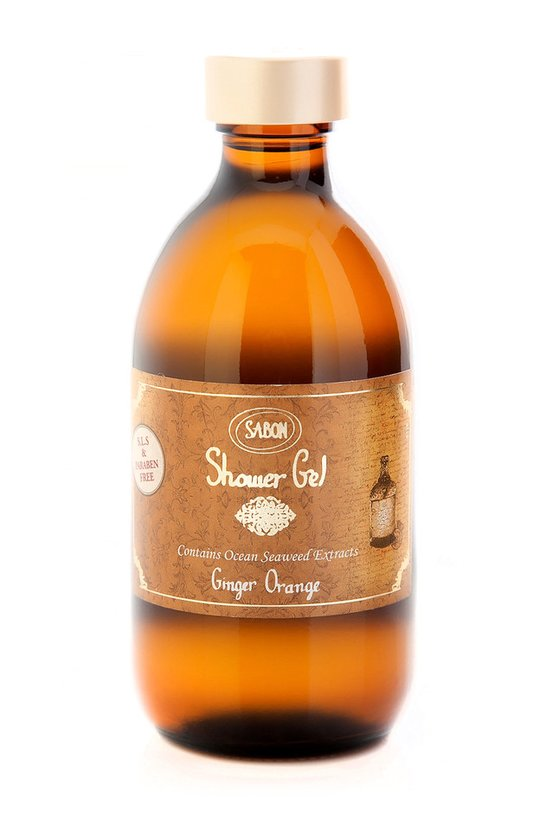 Shower Gel Ginger - Orange