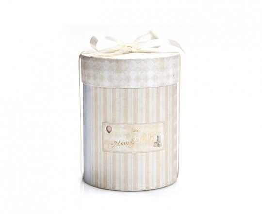 Mother and baby box Round - Small