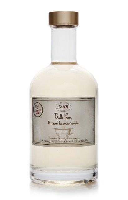 Bath Foam Patchouli - Lavender - Vanilla