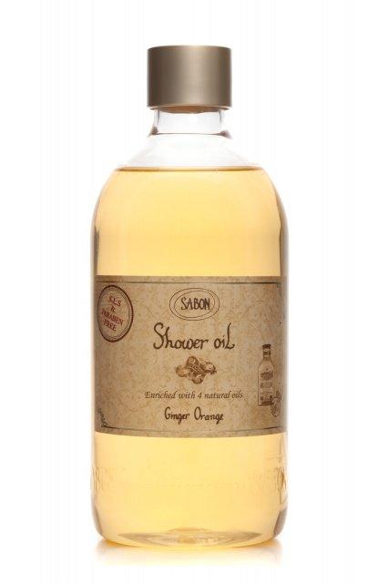 Shower Oil PET Ginger - Orange