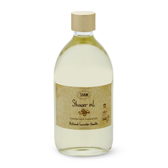 Aceite de Ducha Pachuli Lavanda Vainilla