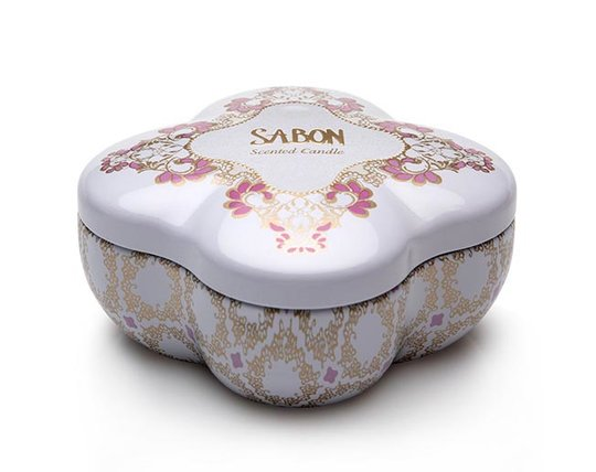 Candle in a Tin Box L Limy Lavender