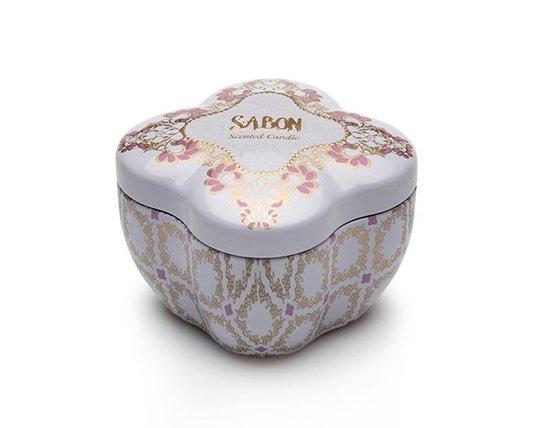 Vela en Caja Metálica S - Limy Lavender