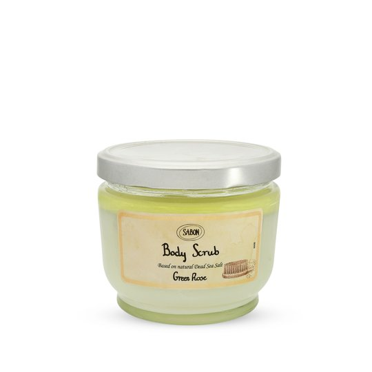 Body Scrub Large Green Rose