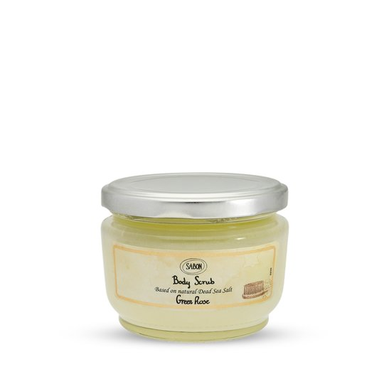Body Scrub Small Green Rose