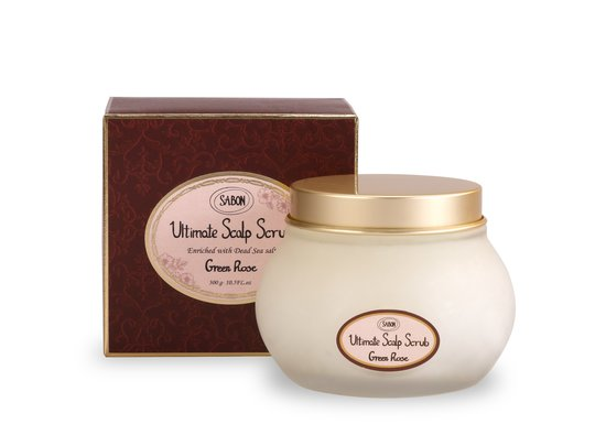 Scalp Scrub - Green Rose