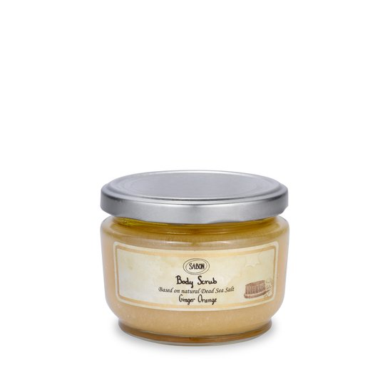Small Body Scrub Ginger Orange