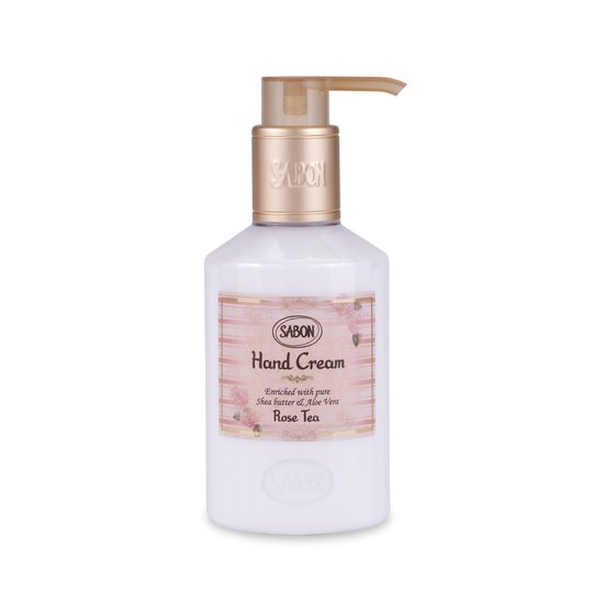 Crema de Manos - Botella Te de Rosas