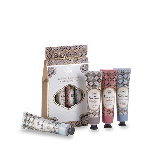 Kit Hand Creams 4 Fragrances