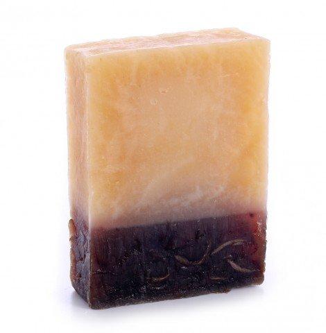 Jabón de Aceite de Oliva Pétalos de Rosa