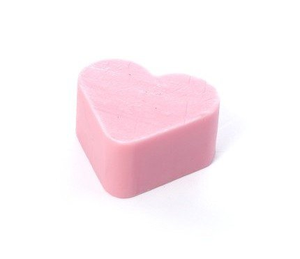Jabón Corazón Pequeño Fresas