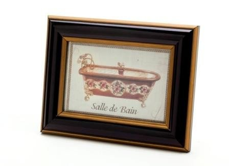 Cuadro Decorativo Bañera Rosa
