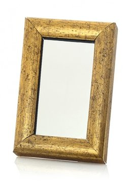 Home Accessories Mirrors Golden frame 10x15
