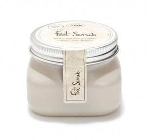 Body Lotion Foot Scrub Mint