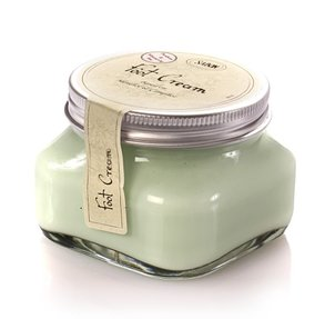 Spa Tools Foot Cream Jar Menthol