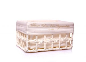 Home Accessories Basket Woven Beige - M