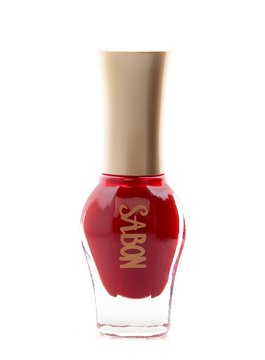 Nails Nail Polish Timeless Red