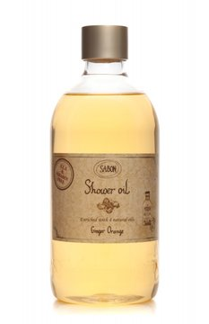 Scrubs Shower Oil PET Ginger - Orange