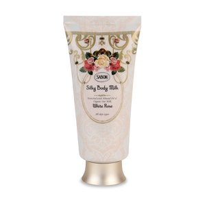 Silky Body Milk White Rose
