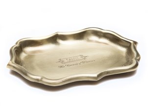 Home Accessories Tray Golden - Small