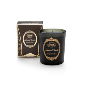 Candles Small scented candle Magical amber