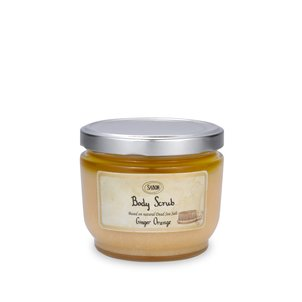 Large Body Scrub Ginger Orange