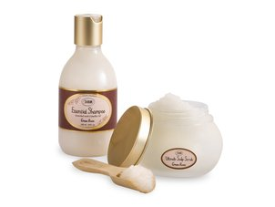 Essential Shampoo + Scalp Scrub - Green Rose