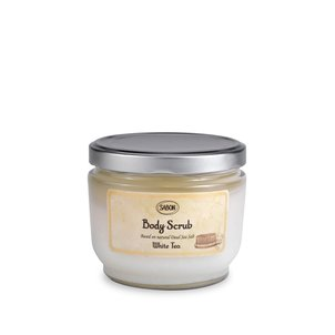 Silky Body Milk Large Body Scrub White Tea