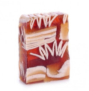 Bath Salt Glycerin soap Vanilla - Coconut