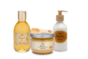 Sabon Body Ritual Ginger Orange