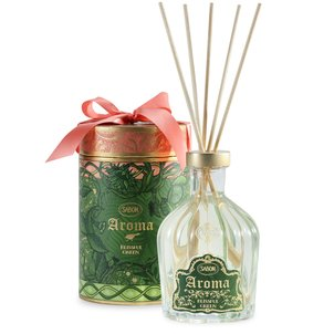 Aroma Reed Diffusers Room Aroma Prestige Blissful Green