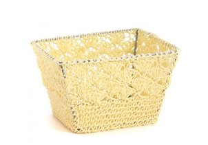 Product Catalogue Basket Crochet S - Beige