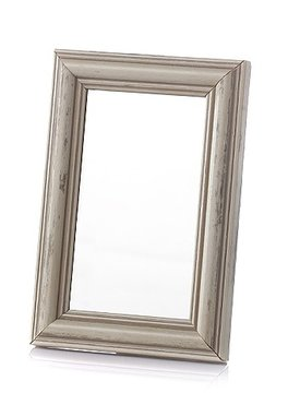 Candles Mirror Beige Frame