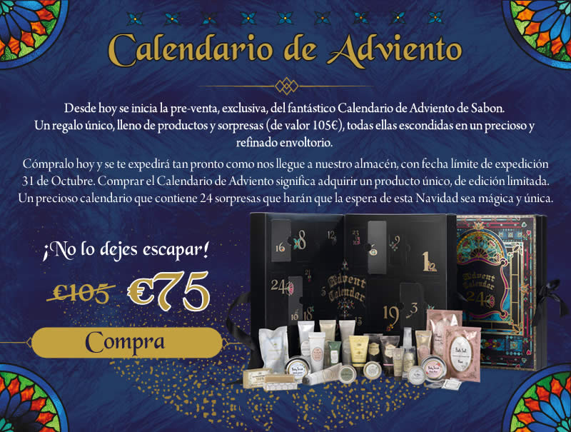 Calendario de Adviento SABON